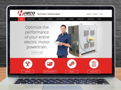 HECO, Inc. Website Design
